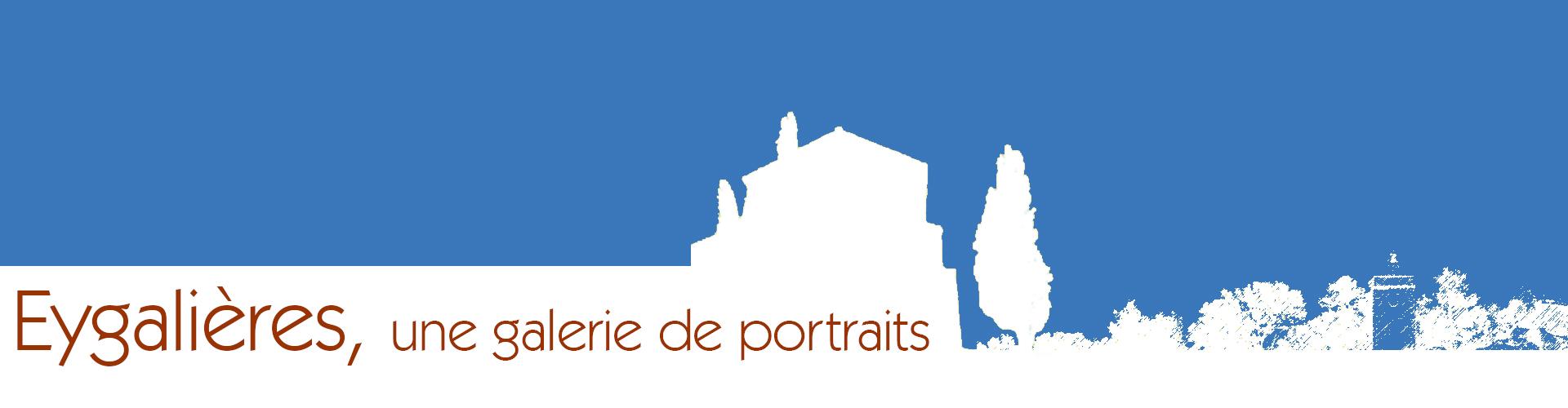 Eygalieres galerie de portraits